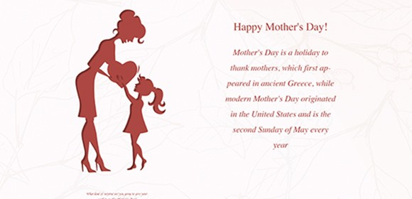 Some Ideas to Celebrate Mother