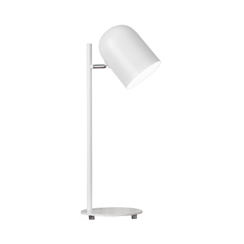 Thunlit White Study Lamp
