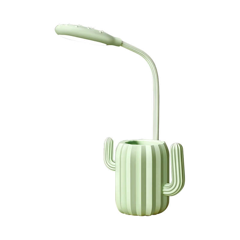 Thunlit Green Study Lamp